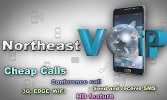 Screenshot of Northeast Voip Android app