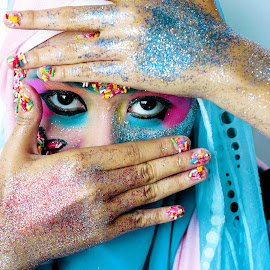 Eyes of Candy face by Mohamad Hafizuddin - People Portraits of Women