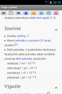 Fyzika Elektro Wiki - screenshot