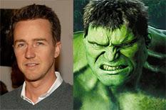 o futuro incerto do Hulk nas telas, edward norton diz desconhecer planos para próximo filme