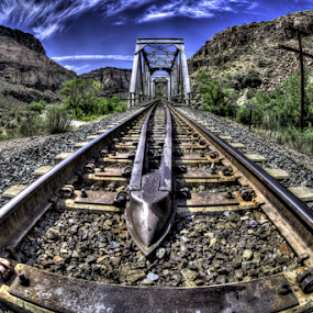 Faith by Dave Zuhr - Transportation Railway Tracks ( dzuhr.com, faith, train, tracks, d_zuhr, dzuhr )