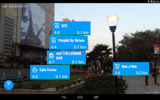 Screenshot of WAM - World Around Me Lite