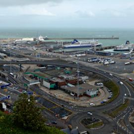 Dover Docks by Deborah Russenberger - Landscapes Travel ( dover, marina, view, dock )