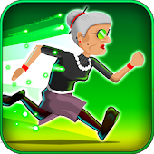 Game Angry Gran RadioActive Run APK for Kindle