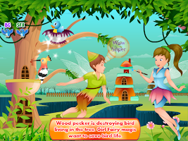 Screenshot of Fairy Love Story Girls Games