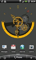 Screenshot of SwissWatch Live Wallpaper Demo