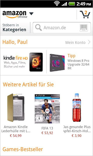 amazon-de for android screenshot