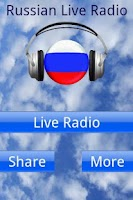 Screenshot of Russian Live Radio