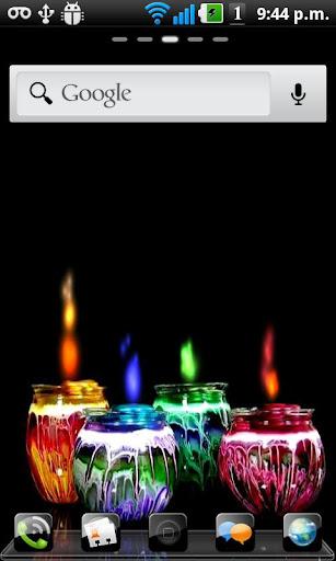 玩免費個人化APP|下載蠟燭顏色壁紙直播 app不用錢|硬是要APP