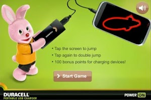 Screenshot of Duracell Power On