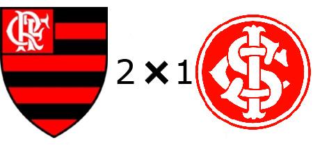 Flamengo 2x1 Internacional