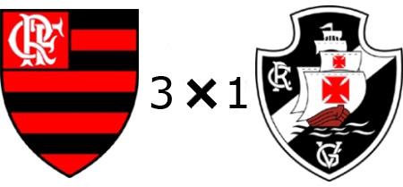 Flamengo 3x1 Vasco