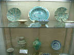 Mammaluk period pottery circa 1174 to 1516AD