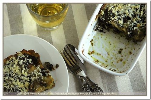 Lasagne Mushroom Pesto (03) by MeetaK