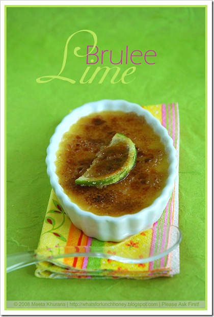 Lime Creme Brulee (02) by MeetaK