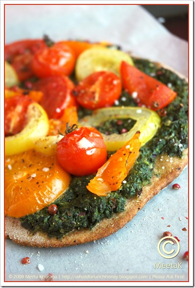 Spinach Tomato Tarte (02) by MeetaK