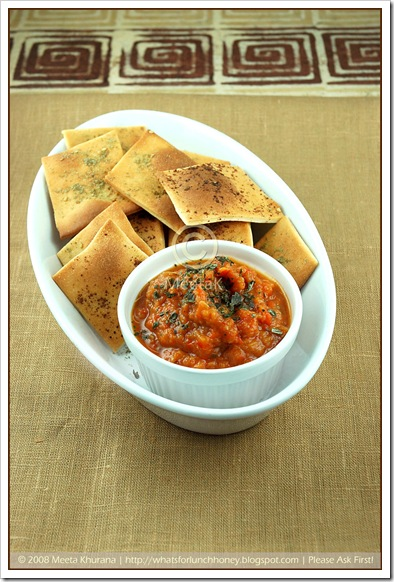 Lavash & Ajvar (01) by MeetaK
