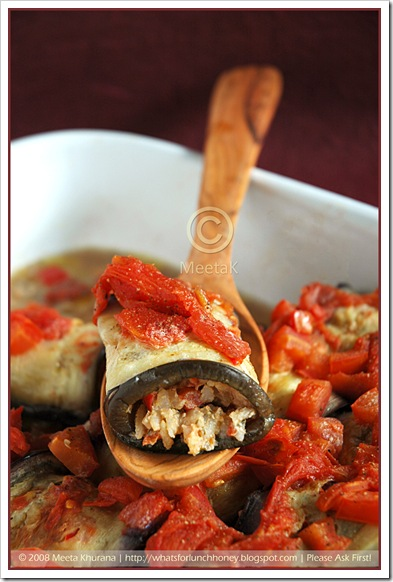Aubergine Rolls-Dolma (04) by MeetaK