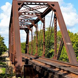 Little River RR Bridge by Kevin Dietze - Buildings & Architecture Bridges & Suspended Structures