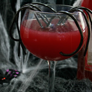 Red Moscato Spider Sangria
