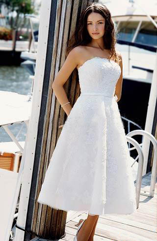 Short Bridal Gowns 11