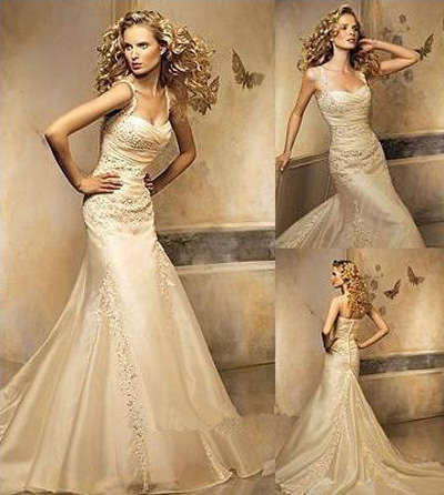 Sexy and elegant of wedding dresses