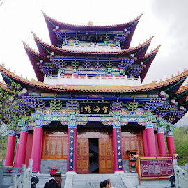 Temple in China by Ilse Gibson - Buildings & Architecture Places of Worship ( temple, colorful building, beijing, places of worship, china,  )