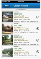 Screenshot of LakeHouse.com Real Estate