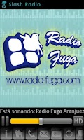 Screenshot of Radio Fuga