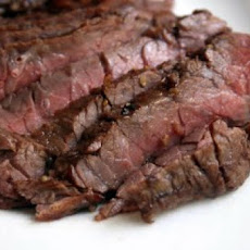 Barbequed Marinated Flank Steak