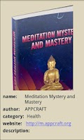 Screenshot of Meditation Mystery and Mastery