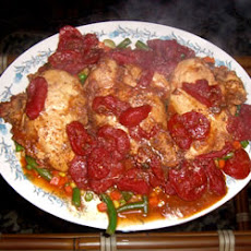 Tender Tomato Chicken Breasts