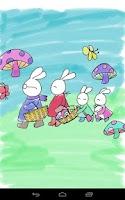 Screenshot of Coloring Doodle - Bunny GO