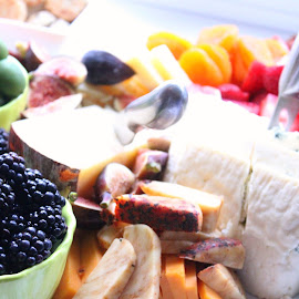 Colorful by Julia Nicely - Food & Drink Plated Food ( fruit, food, wedding, plated food, cheese )