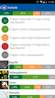 Screenshot of iTheorie Taxiprüfung Schweiz