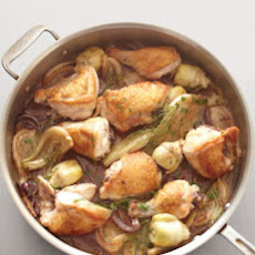 Chicken, Fennel, and Artichoke Fricassee