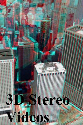 3D Stereo Videos