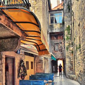 Trogir / Croatia by Dado Barić - City,  Street & Park  Street Scenes ( dalmacija, street, croatia, trogir, dalmatia, hrvatska )