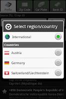 Screenshot of 4in1 - Prefix, Zip, Car, Bank