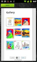 Screenshot of Kids Painter (LG Ranking 8)