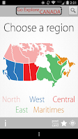 Screenshot of GoExplore Canada