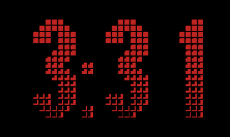 Screenshot of Desk Clock