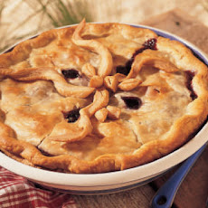Old-Fashioned Blueberry-Maple Pie