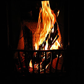 fireplace  by Magdalena Wysoczanska - Abstract Fire & Fireworks