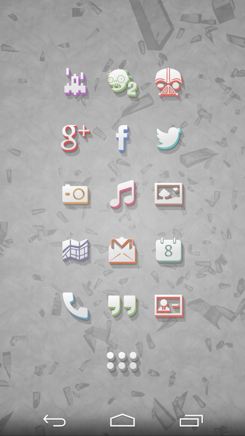3Dion - Icon Pack Screenshot 2