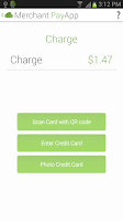 Screenshot of Merchant App