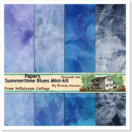 summertime blues folder papers preview