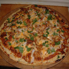 Ultimate Favourite Bbq Chicken Pizza