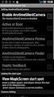 Screenshot of AnytimeSilentCamera Free