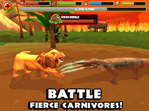 Safari Simulator: Lion - screenshot